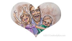 Art A Day for 365 - Day 5 - Loves of My Life