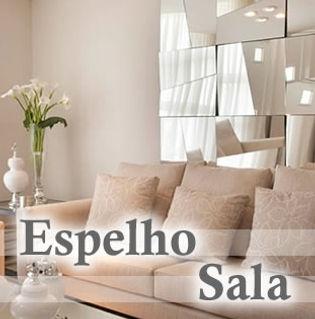Edecorado Espelho Sala em São Bernardo do Campo