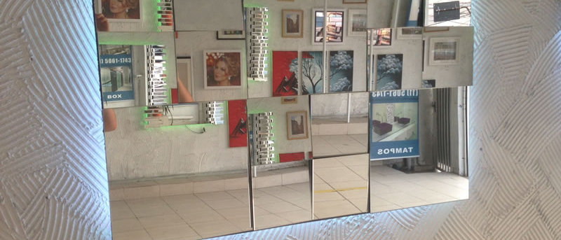 Espelho Mosaico CLASSIC V3 90 x 120cm. Cód. 000085