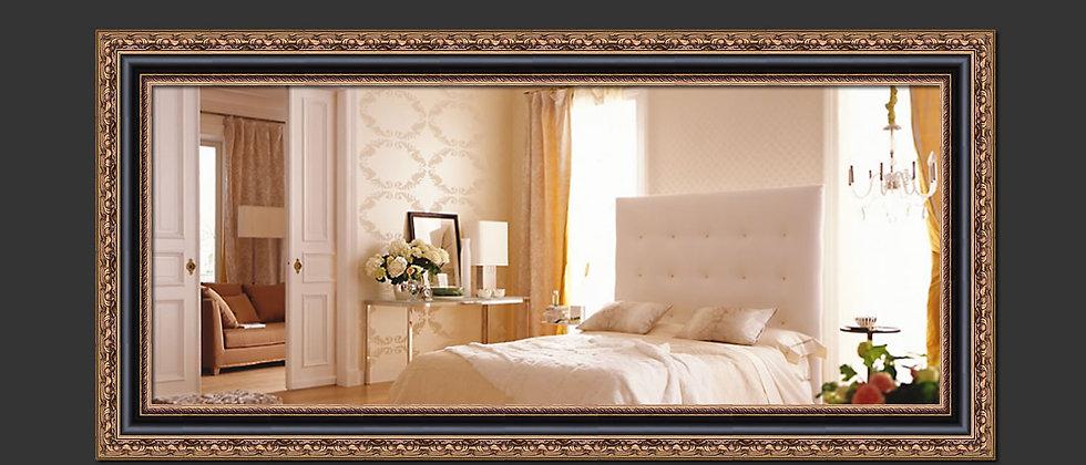 Espelho com Moldura Clássica 125cm x 60cm. Cód. 000151