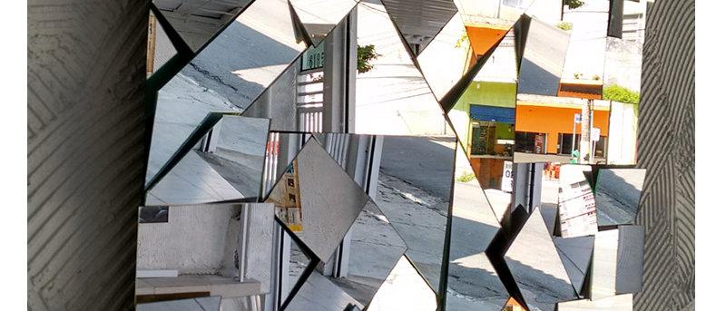 Espelho ALEATÓRIO 80 x 80cm. Cód. 000100