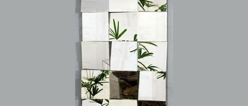 Espelho Mosaico QUADRADOS 45cm x 105cm. Cód. 000124