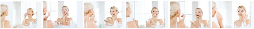 Espelho com Iluminação em Led Profissional para Maquiagem.