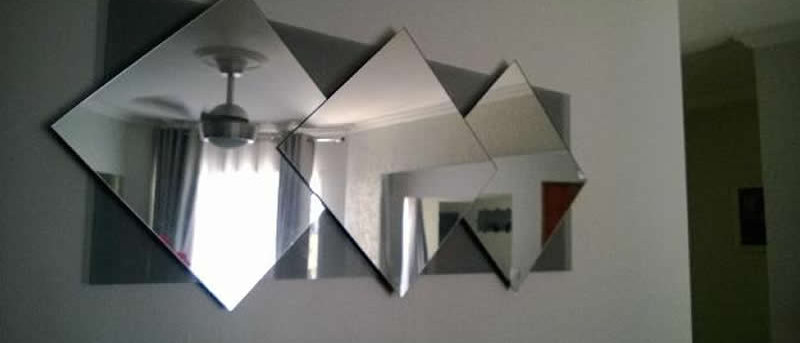 Espelho Classico ESCUDO TRIPLO 40 x 100cm. Cód. 000106