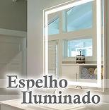 Edecorado Espelho Iluminado com iluminação em Santo André