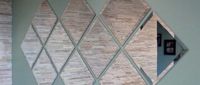 Espelho 10 Escudos bisote 65 x 130cm. Cód. 000115