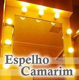 Edecorado Espelho camarim em Santo André