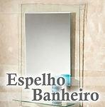 Edecorado Espelho Banheiro em São Bernardo do Campo