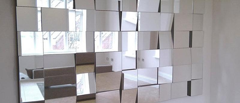 Espelho Mosaico SQUARE 100 x 200cm. Cód. 000090