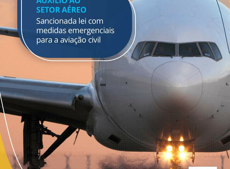 Auxílio ao setor aéreo