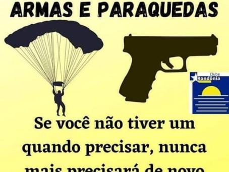 Armas e paraquedas