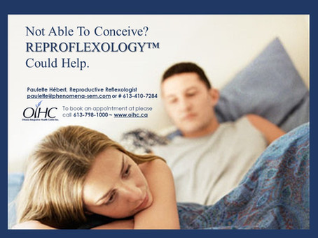 Not Able To Conceive? REPROFLEXOLOGY™ Could Help.