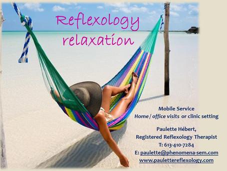 Reflexology = Relaxation