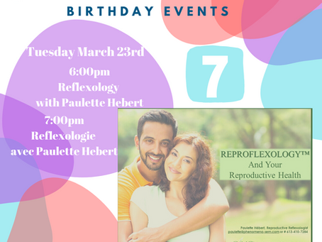 x2 FREE webinars - Learn more about Reproductive Reflexology