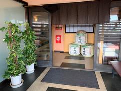 2階食事処入口