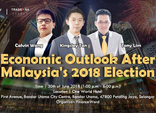 Economic Outlook After Malaysia's 2018 Election