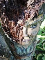 Obraz v drevesu