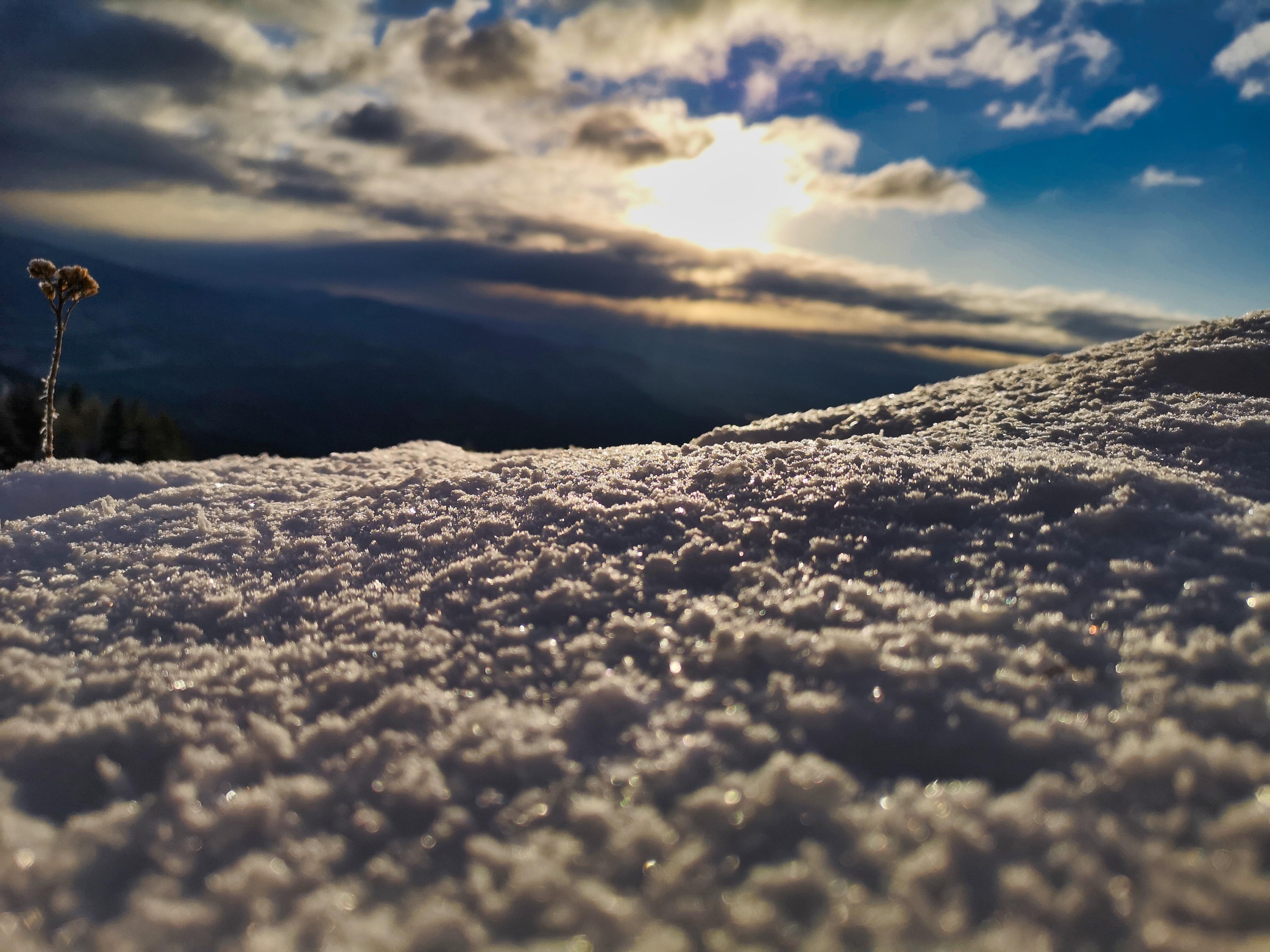 Sneg na Uršlji gori