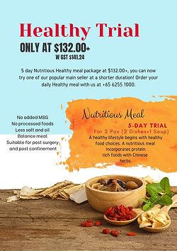 Tingkat Healthy Meal Singapore