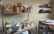Studio - Handmade original pottery designs and clay creations for the modern home by Vicki Gardner