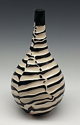 Pottery Vase 4 Black and White