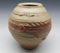 Textured Pottery Clay Pot 2 by Vicki Gardner