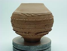 Natural Clay pottery bowl