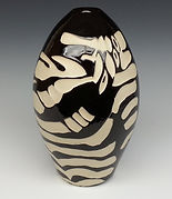 Pottery Vase 2 Black and White