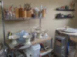 Pottery Clay Studio by Vicki Gardner