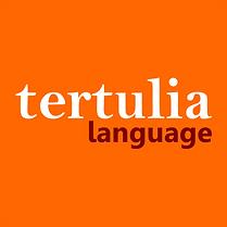 tertulia language logo