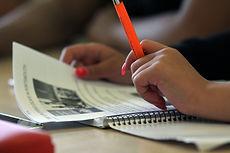 English class at John Pounds Centre