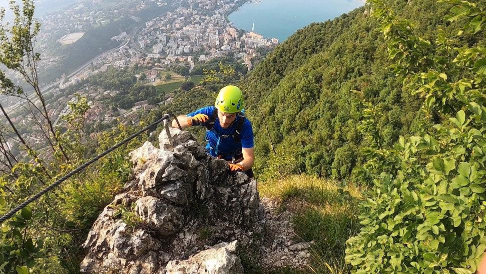 City Climbing - via ferrata S. Salvatore