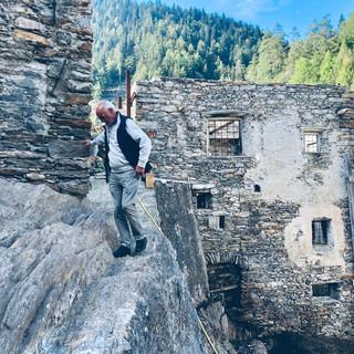 Rivalorizzazione roccia con segnali storici risalenti al 1500 ca.