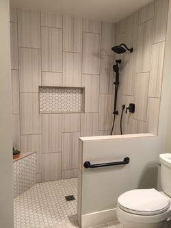 Tile and Shower Remodel