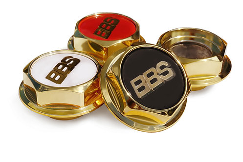 Hex Nuts Gold full hight for BBS RC series 300