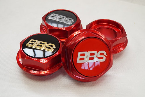 Hex Nuts for BBS RC Candy Red