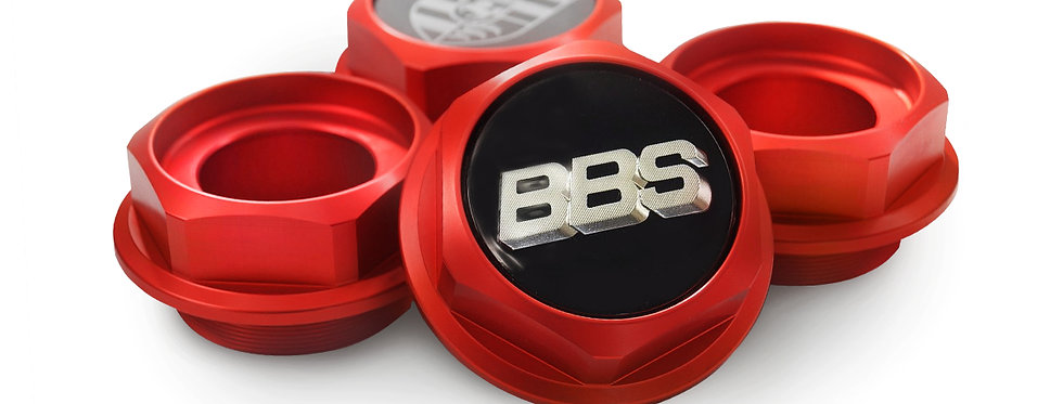 Hex Nuts for BBS RC 041 BMW style 29 Red