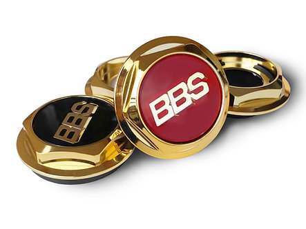 Hex Nuts Gold for BBS RC series 300