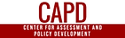 Logo for the Center for Assessment and Policy Development (CAPD)