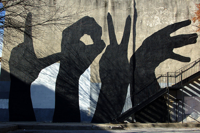 mural baltimore love project