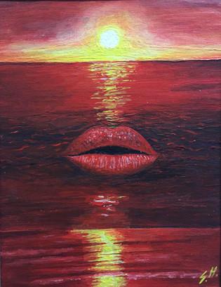 Kisssunset made by sam hunziker