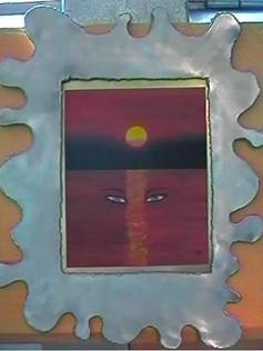 Eyesunset made by sam hunziker