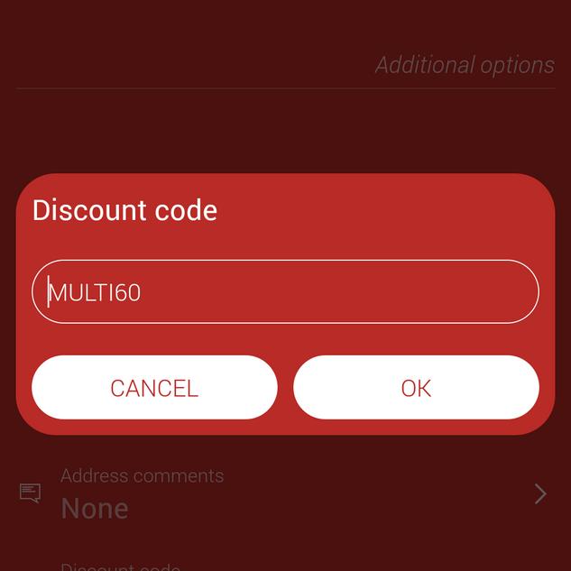 Customer's booking app