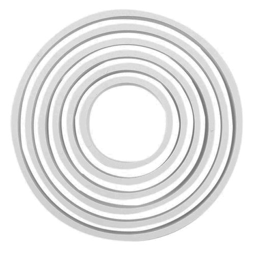 PNR5 PME 塑膠切模 圓形組 ROUND PLASTIC CUTTERS  SET