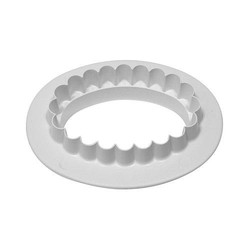 OV511 PME 平面 & 花邊 雙面橢圓形塑膠切模 小 PLAIN & FLUTED OVAL CUTTER SMALL