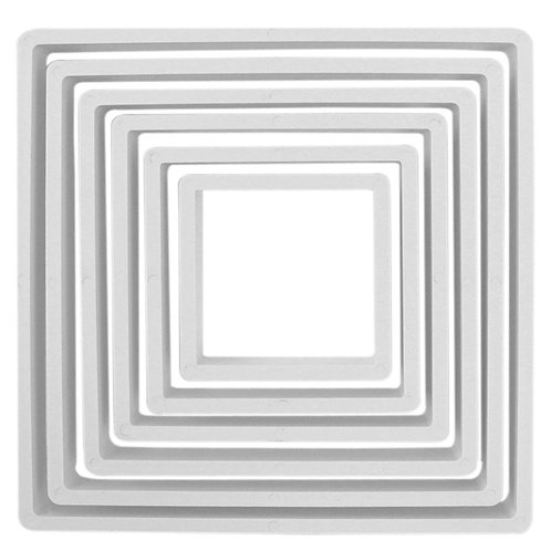 PNS4 PME 塑膠切模 正方形組 SQUARE PLASTIC CUTTERS  SET