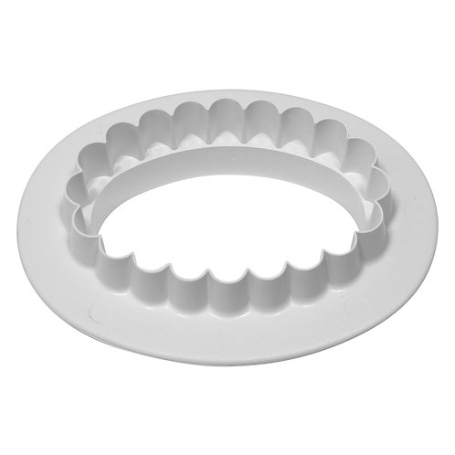 OV513 PME 平面 & 花邊 雙面橢圓形塑膠切模 大 PLAIN & FLUTED OVAL CUTTER LARGE