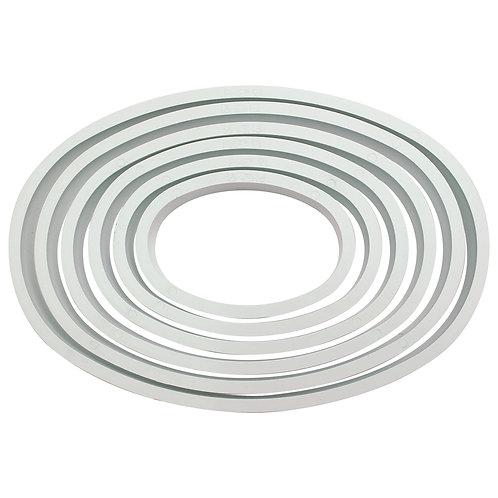 PN03 PME 塑膠切模 橢圓形組 OVAL PLASTIC CUTTERS SET