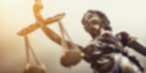 The Statue of Justice symbol, legal law