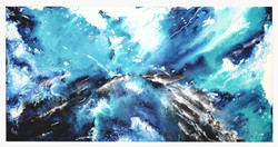 Acrylic Colours on Canvas Painting -  Fl